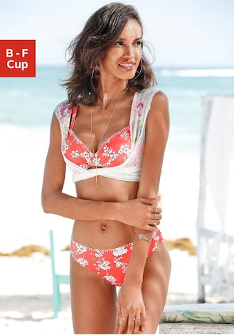 Sunseeker Bügel-Bikini-Top »Ditsy«, mit Häkelkante kaufen
