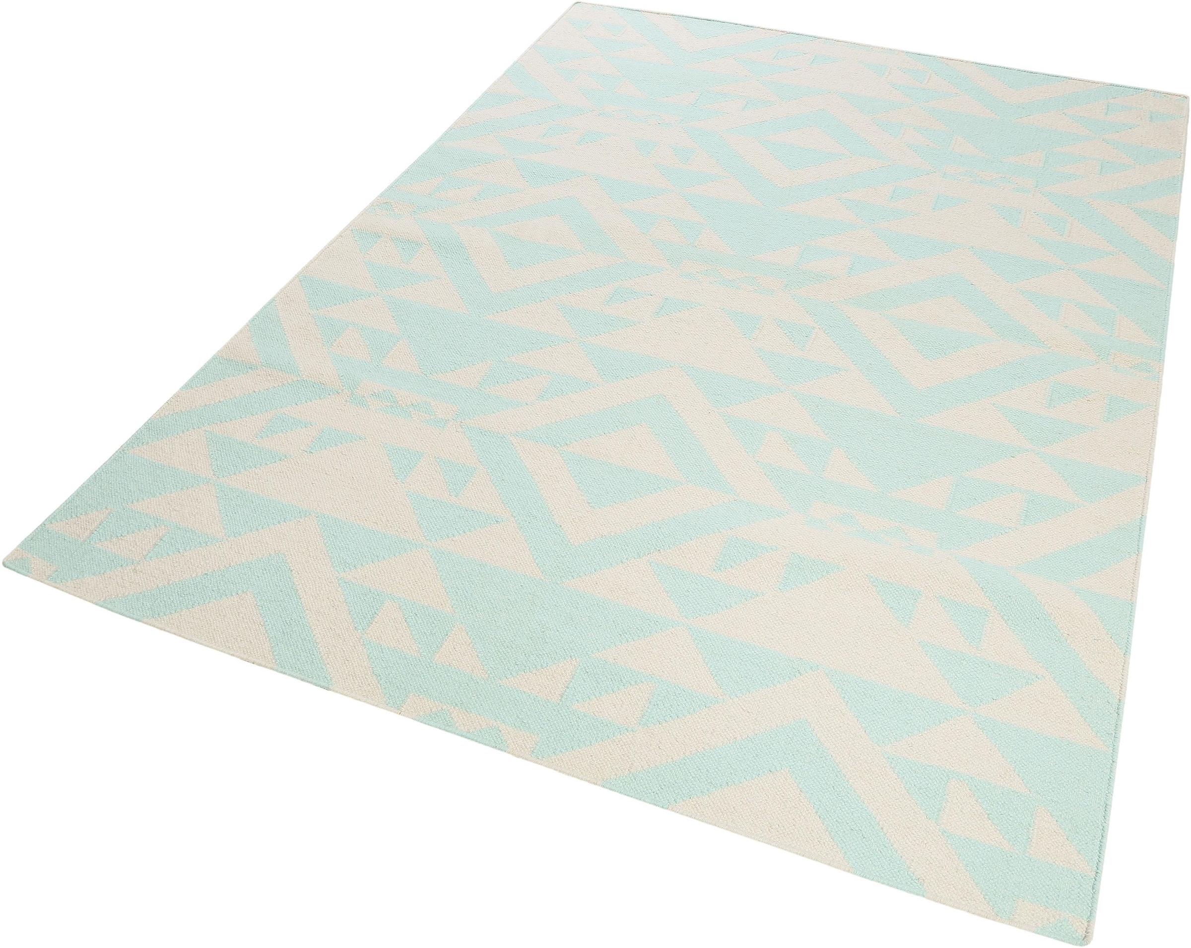 Image of Accessorize Home Wollteppich »Mellow«, rechteckig, 5 mm Höhe, reine Wolle, Wohnzimmer