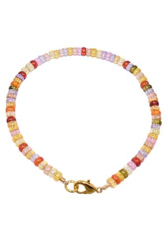Firetti Armband »Bunt, schimmernd, 4 mm breit«, mit Zirkonia, Made in Germany kaufen