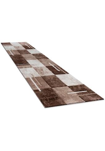Paco Home Läufer »Diamond 663«, rechteckig, 18 mm Höhe, Teppich-Läufer, Kurzflor,... kaufen