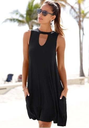 Beachtime Strandkleid, mit modischem Ausschnitt kaufen
