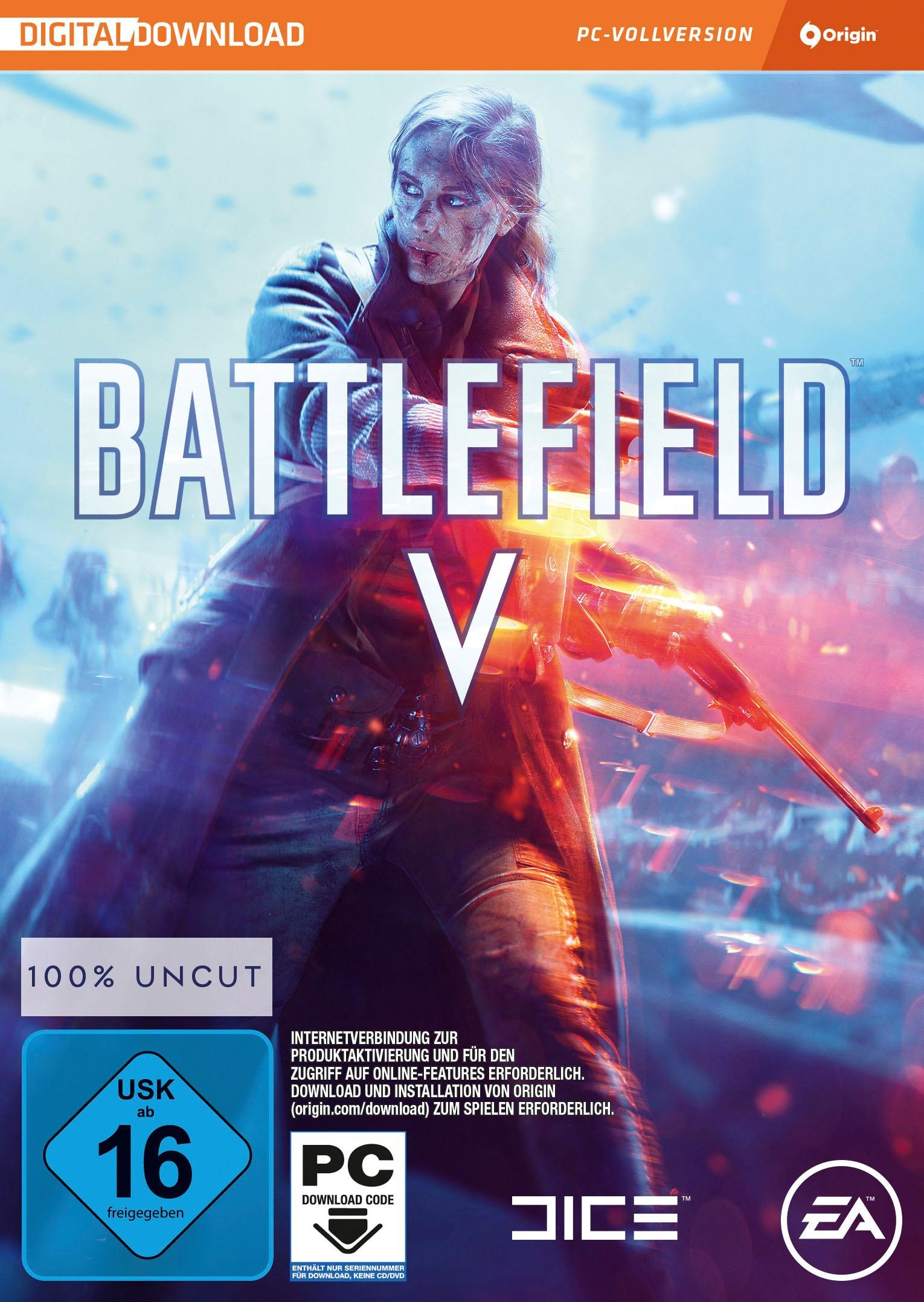 Image of Battlefield V (Code in the Box) PC