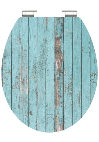 Schütte WC-Sitz »Blue Wood«, mit Absenkautomatik kaufen