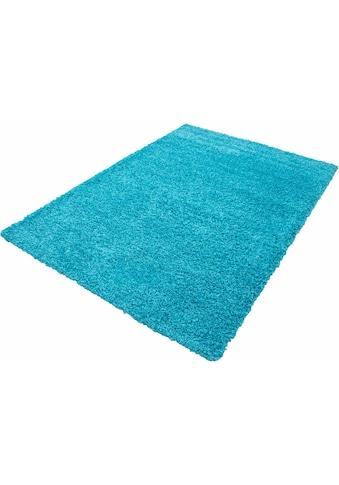 Ayyildiz Hochflor-Teppich »Life Shaggy 1500«, rechteckig, 30 mm Höhe, Wohnzimmer kaufen