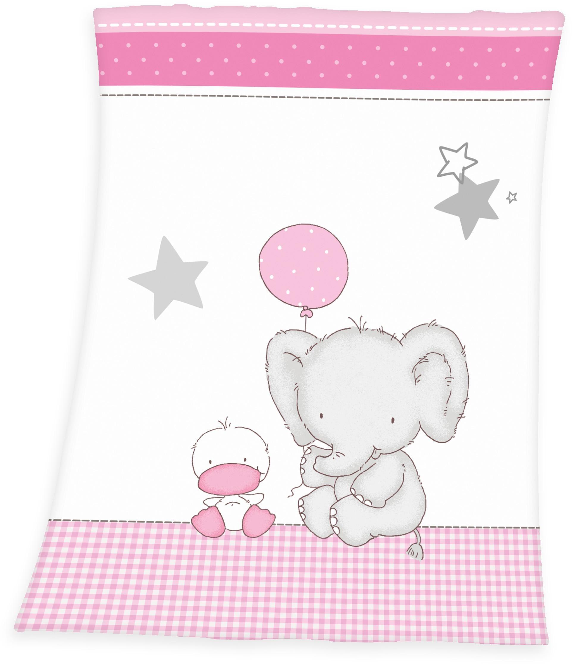 Image of Babydecke »Fynn Elefant«, Baby Best