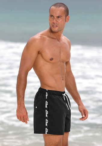 s.Oliver Beachwear Badeshorts, mit seitlichem Logodruck kaufen