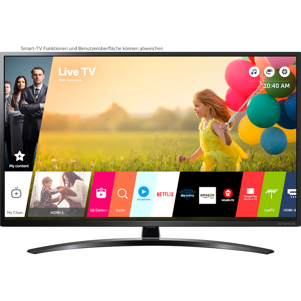 "LG LED-Fernseher »43NANO796NE«, 108 cm/43 "", 4K Ultra HD, Smart-TV"