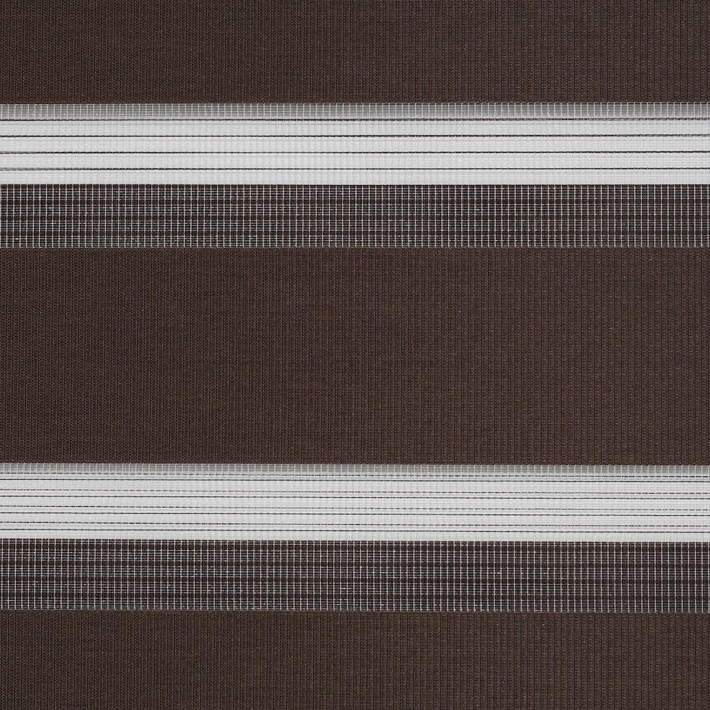LICHTBLICK ORIGINAL Doppelrollo »Duo Rollo Klemmfix«, Lichtschutz, ohne Bohren, freihängend, Seitenzugrollo im Festmass, schnelle und einfache Montage mit beiliegendem, verstellbarem Klemmträger