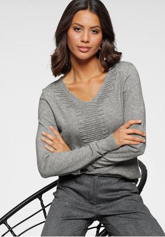 Bruno Banani V - Ausschnitt - Pullover kaufen