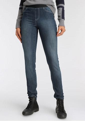 Arizona Skinny-fit-Jeans, Mid Waist Comfort-Stretch kaufen