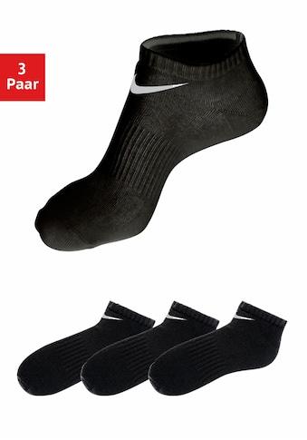 Nike Sneakersocken, (3 Paar), mit Mittelfussgummi kaufen