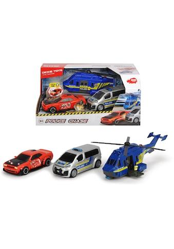 "Dickie Toys Spielzeug - Polizei ""Police Chase"" (Set, 3 - tlg.) kaufen"