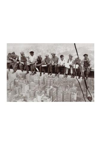 Home affaire Wandbild »Eating above Manhattan«, 90/60 cm kaufen