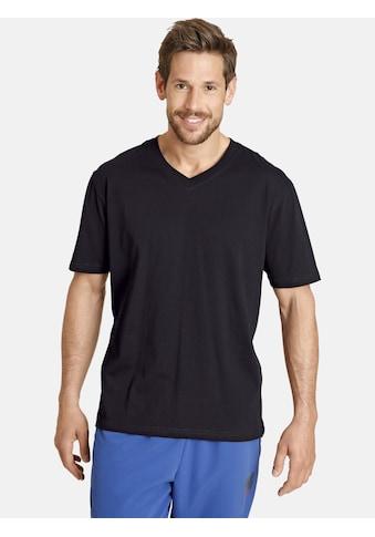 Jan Vanderstorm T-Shirt »OSMO«, Basic Shirt, legere Passform kaufen