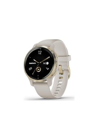 Garmin Smartwatch »Venu 2S Goldfarben/Beige« kaufen