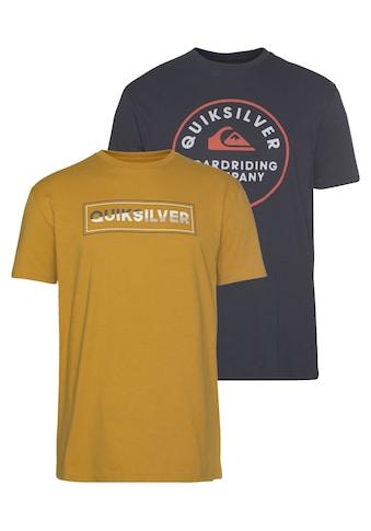 Quiksilver T - Shirt »RAINBOW COMP FLAXTON YM PACK« kaufen