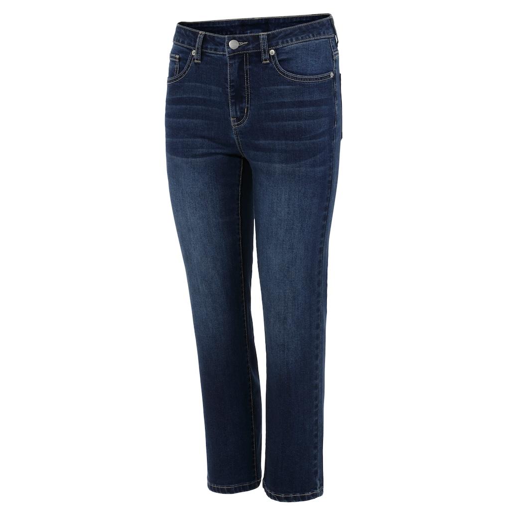 Aniston SELECTED Straight-Jeans, in verkürzter cropped Länge