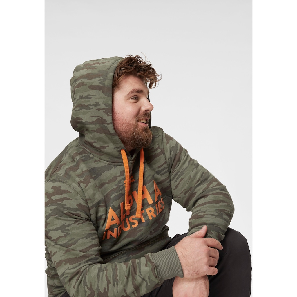 Alpha Industries Kapuzensweatshirt »Foam Print Hoody«