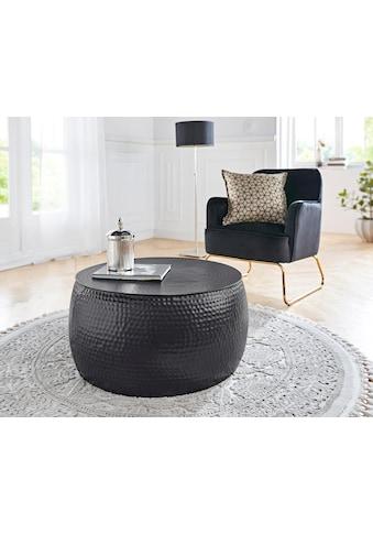 Leonique Couchtisch »Saleve«, aus schönem Aluminium, Breite 69 cm kaufen