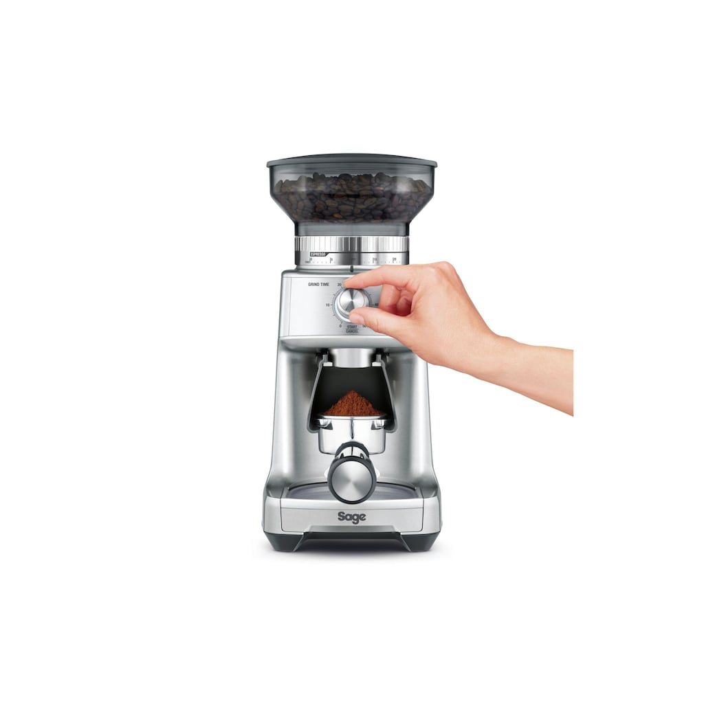 Sage Kaffeemühle »Dose Control Pro«, 130 W, 340 g Bohnenbehälter