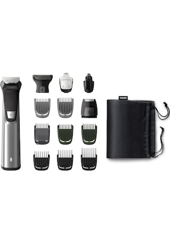 Philips Multifunktionstrimmer »MG7745/15«, 14 Aufsätze, All-in-One Trimmer, 14-in-1... kaufen