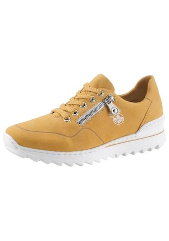 Rieker Keilsneaker, mit Zierreissverschluss aussen kaufen