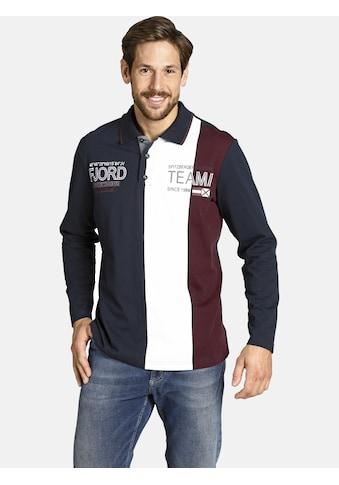Jan Vanderstorm Sweatshirt »BERNTH«, in trendigem Rugby-Design kaufen