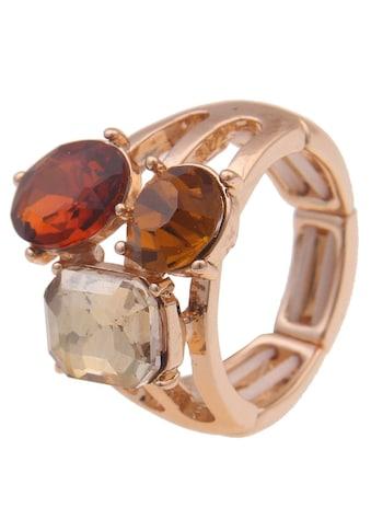 leslii Fingerring »Autumn, 250118595«, mit Glassteinen kaufen
