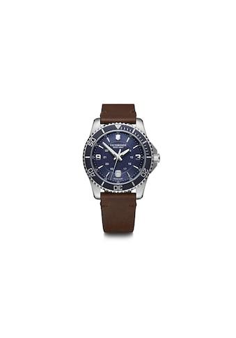 Victorinox Mechanische Uhr »Victorinox Armbanduhr Maverick Herren«, Mit Kronenschutz... kaufen