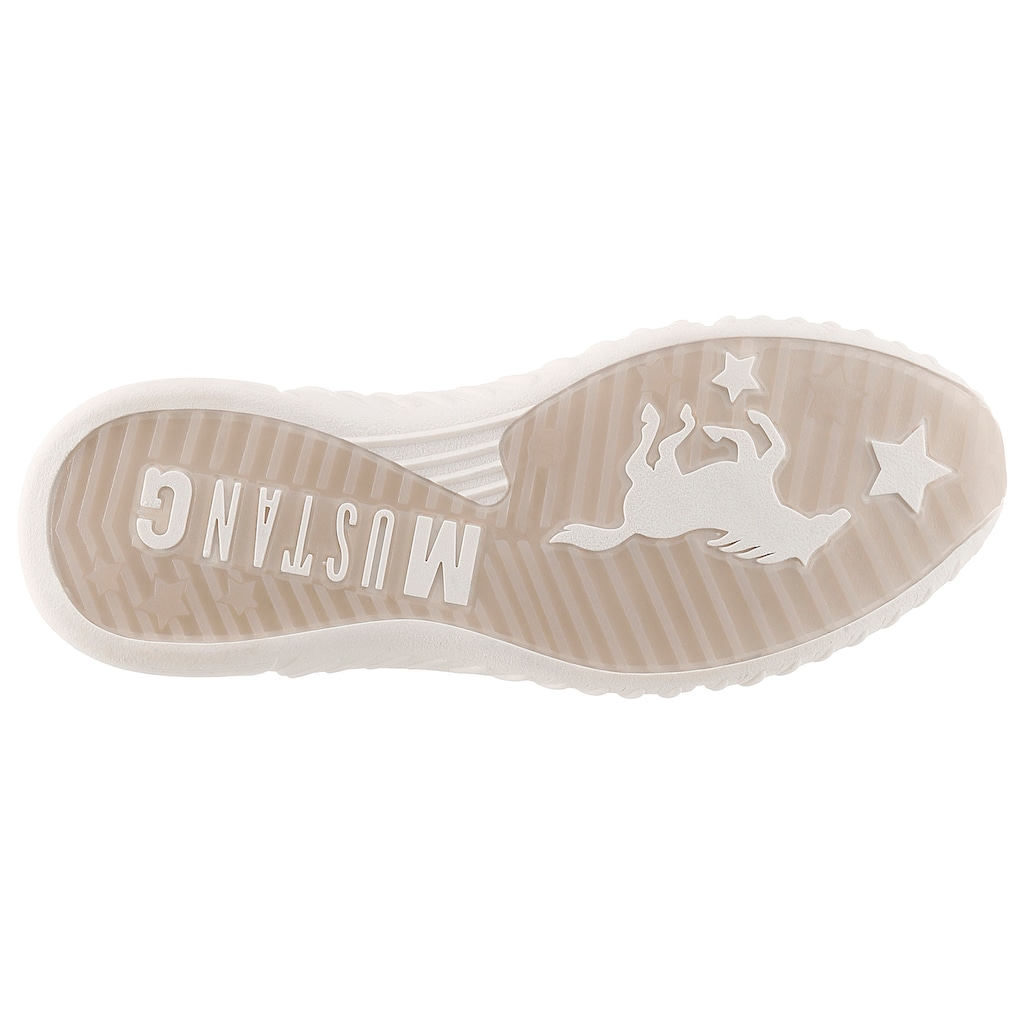Mustang Shoes Slip-On Sneaker, mit dehnbarem Schaft
