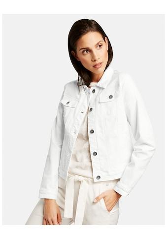 Taifun Jacke Jeans + Gewebe »Jeansjacke« kaufen