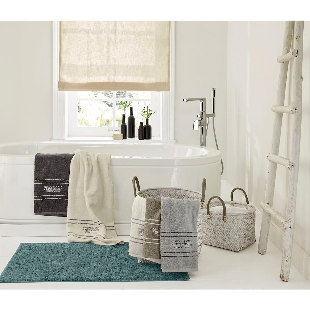 Guido Maria Kretschmer Home&Living Badematte »Portol«, Höhe 15 mm, rutschhemmend beschichtet