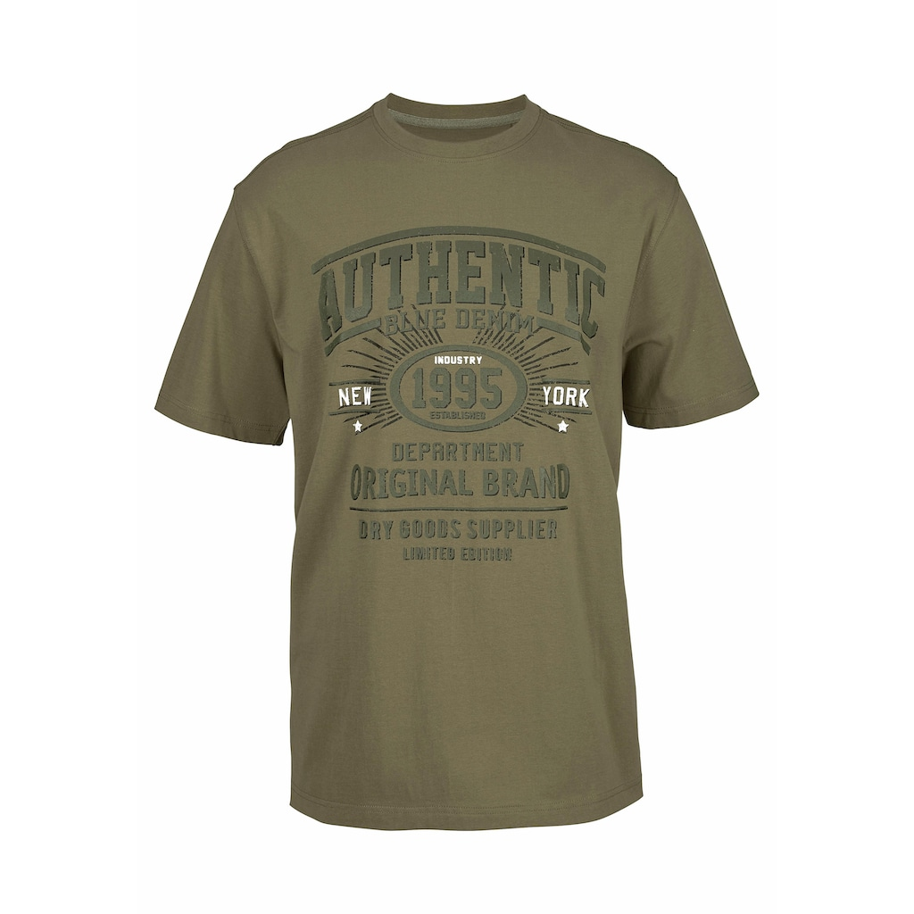 Man's World T-Shirt, bequemes Material in optimaler Passform