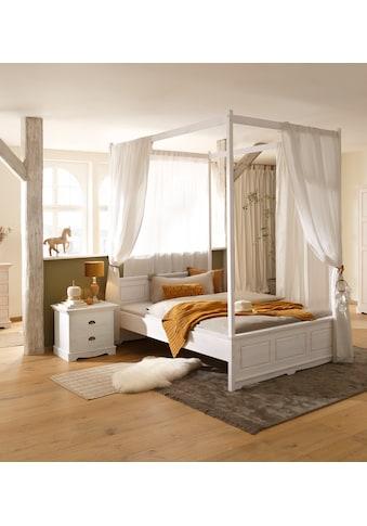 Home affaire Einzelbett »Eva«, aus Kiefer massiv kaufen