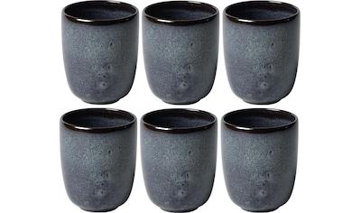 Villeroy & Boch Tasse »Lave«, (Set, 6 tlg.) kaufen