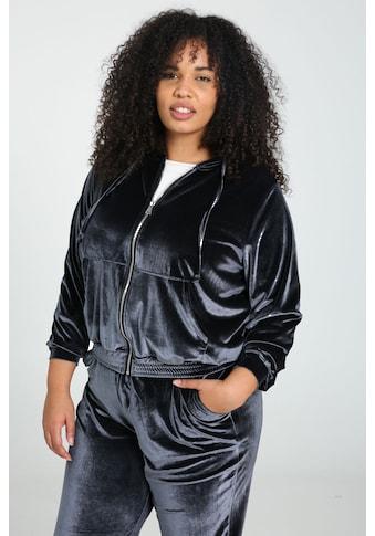 Paprika Kurzjacke »Reissverschluss Sportswear«, mit Kaputze kaufen