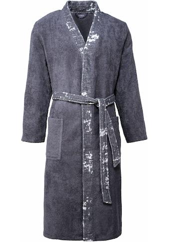 Egeria Herrenbademantel »Remo«, (1 St.), mit Kimonokragen kaufen