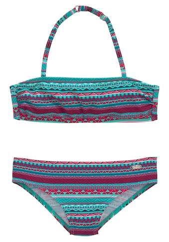 Buffalo Bandeau-Bikini, im Ethno-Druck kaufen
