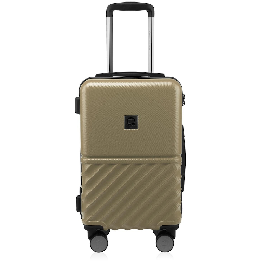 Hauptstadtkoffer Hartschalen-Trolley »Boxi, 55 cm«, 4 Rollen