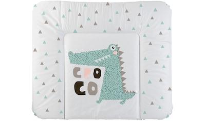Rotho Babydesign Wickelauflage »Cheeky Croco«, Made in Europe kaufen
