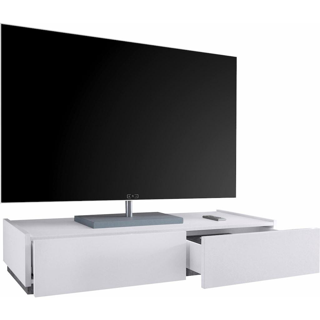 Places of Style TV-Board »Zela«, mit 2 Schubladen, Breite 123 cm