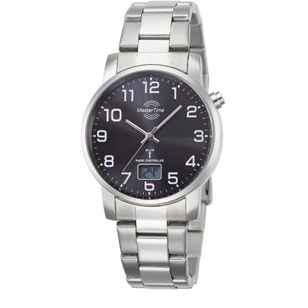 MASTER TIME Funkuhr »Basic, MTGA-10694-21M«