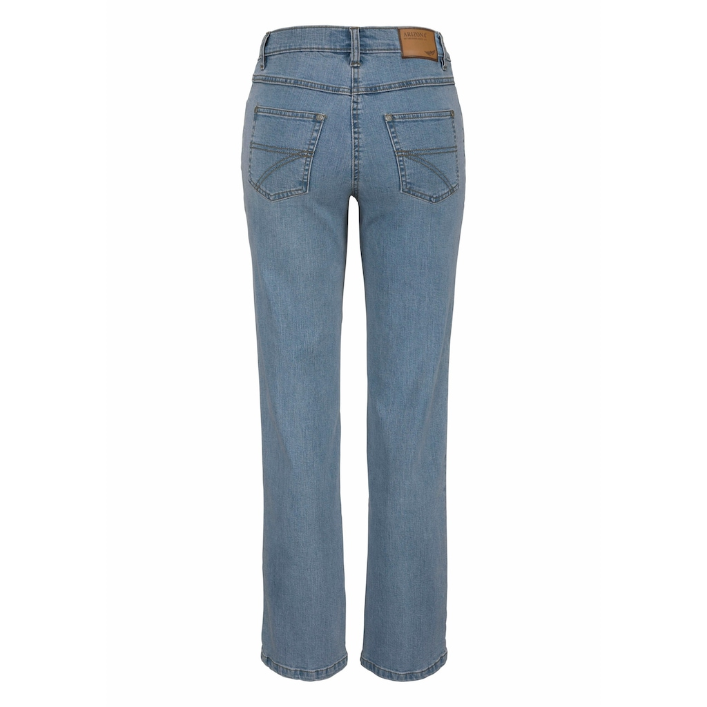 Arizona Gerade Jeans »Annett«, High Waist