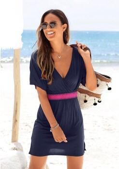 d4f336cafc9d1c LASCANA Strandkleid mit Gummi in der Taille kaufen