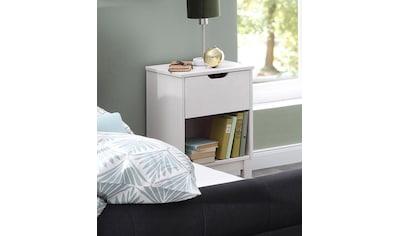 Home affaire Nachtkonsole »Post«, aus schönem massivem Kiefernholz, mit einer schönen Stauraummöglichkeit durch die Schublade, Breite 38 cm kaufen