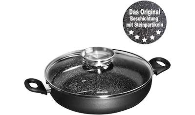 STONELINE Servierpfanne, Aluminium, (1 tlg.), Ø 24 cm, mit Aromaknopf im Deckel,... kaufen