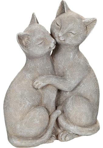 Ambiente Haus Dekofigur »Katzenpärchen«, Höhe 15 cm kaufen