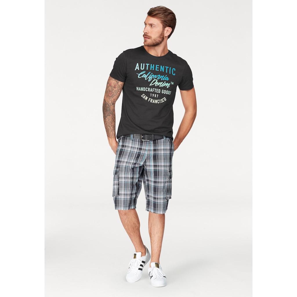 John Devin T-Shirt, mit coolem Druck