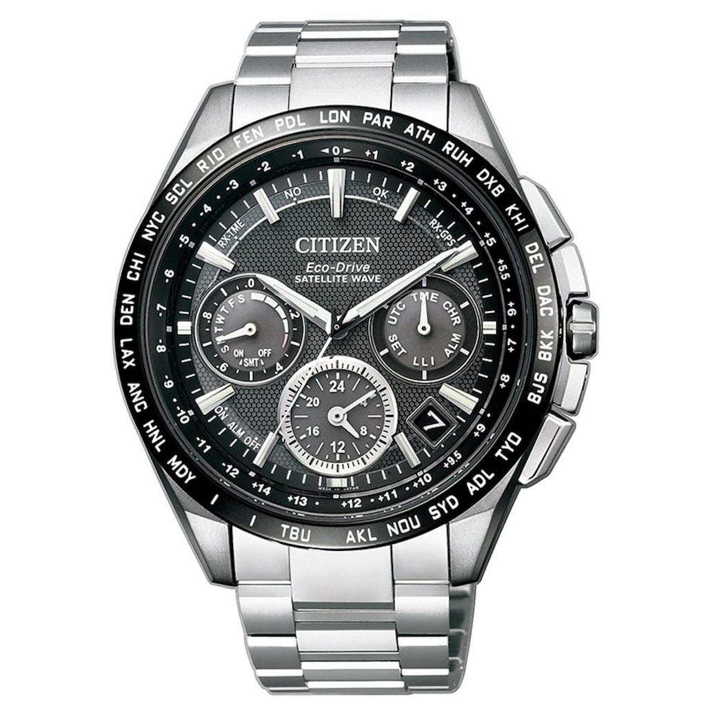 Citizen Funkchronograph »CC9015-54E«, mit Satellite Timekeeping System