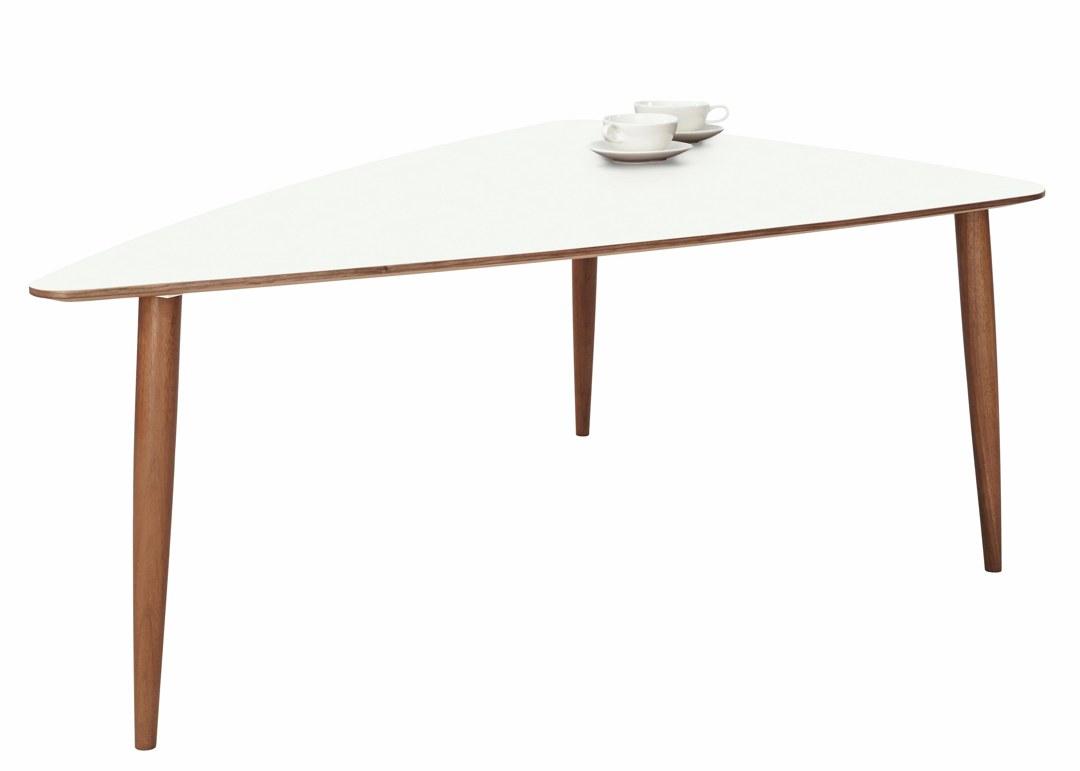 Image of andas Couchtisch »Mainsail«, walnut massiv in skandinavischem Design